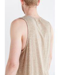 BDG Gray Speckled Tank Top for men