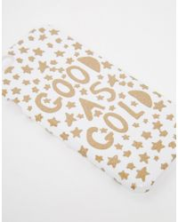ASOS - Multicolor Christmas Good As Gold Iphone 6 And 6s Case for Men - Lyst