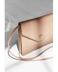 Kimchi Blue Pink Box Envelope Crossbody Bag
