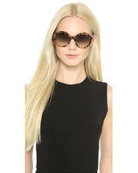 Prada - Round Sunglasses - Light Tortoise/Brown - Lyst