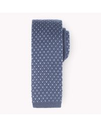 Tommy Hilfiger | Blue Wool Tailored Tie for Men | Lyst