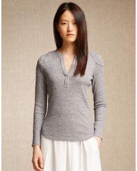Belstaff - Gray Vina Shirt - Lyst
