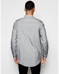 ASOS | Gray Shirt In Super Oversized Fit With Dropped Shoulder for Men | Lyst