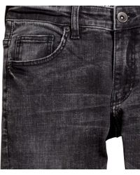 H&M - Gray Jeans Super Skinny Fit for Men - Lyst
