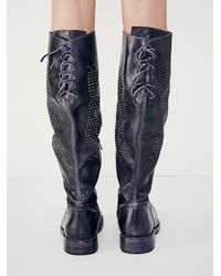 Free People - Black Manchester Tall Boot - Lyst