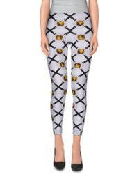 Versus | White Leggings | Lyst