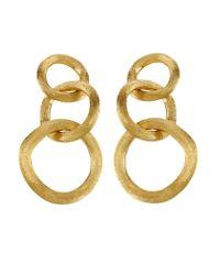 Marco Bicego | Metallic Jaipur Link Drop Earrings | Lyst