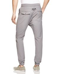 Zanerobe - Gray Sureshot Tech Jogger Pants - 100% Bloomingdale's Exclusive for Men - Lyst
