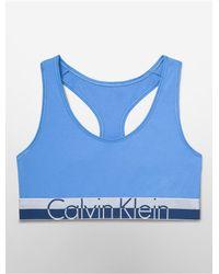 Calvin Klein - Blue Underwear Magnetic Force Bralette - Lyst