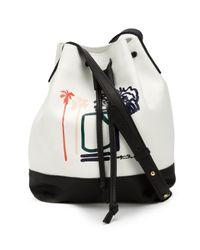 Lizzie Fortunato Black Sally King Benedict Bucket Bag