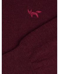 Wolsey | Purple Merino Plain Half Zip Neck Zip Fastening Jumpers for Men | Lyst
