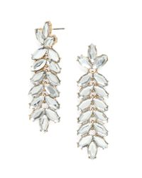 BaubleBar | Metallic Jeweled Vine Drops | Lyst