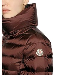 Moncler Brown Talcy Matte Nylon Down Jacket