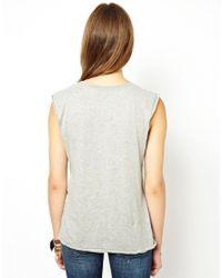 Ralph Lauren - Gray Palm Rock Tshirt - Lyst