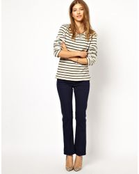 M.i.h Jeans - Blue The Brighton Jean in Navy Twill - Lyst