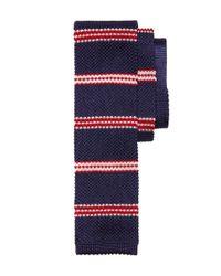 Brooks Brothers - Blue Bb#1 Stripe Knit Tie for Men - Lyst