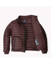 Tommy Hilfiger - Purple Quilted Bomber for Men - Lyst