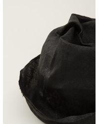 Reinhard Plank - Black Crumpled Pork Pie Hat - Lyst