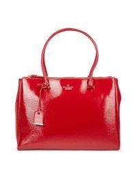 Kate Spade | Red Cedar Street Patent Reena Bag | Lyst