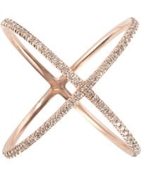 Eva Fehren Metallic x Ring