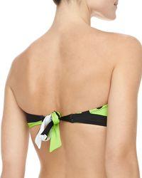 Trina Turk - Multicolor Pop Wave Bandeau Bikini Top  - Lyst