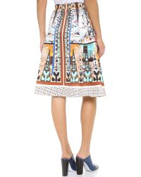Clover Canyon   Multicolor Havana Circle Full Skirt   Lyst