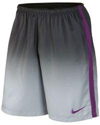 Nike - Gray Strike Soccer Short for Men - Lyst