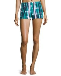 Cosabella - Green Loire Watercolor-stripe Boxer Shorts - Lyst