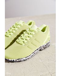 Adidas | Yellow Zx Flux Prism Sole Sneaker | Lyst