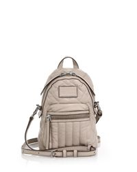Marc By Marc Jacobs | Natural Domo Quilted Leather Backpack | Lyst