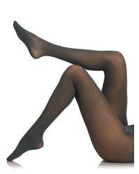 Fogal - Black Semi-Opaque Tights - Lyst