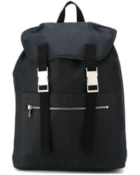 A.P.C. - Black 'jamie' Backpack for Men - Lyst