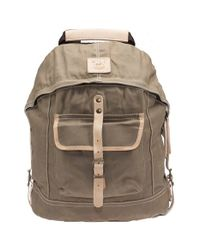 Will Leather Goods | Natural Canvas Backpack for Men | Lyst