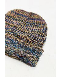 Urban Outfitters | Black Marled Knit Beanie for Men | Lyst