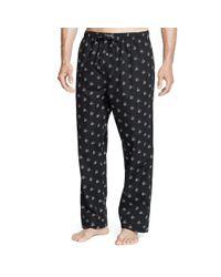Polo Ralph Lauren | Black Champagne Print Pajama Pant | Lyst