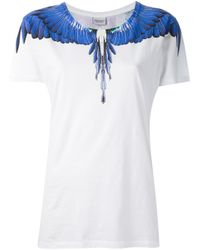 Marcelo Burlon Blue Wing Tshirt