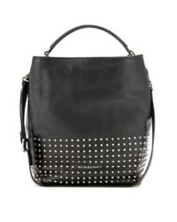 Burberry Brit - Black Susanna Leather Tote - Lyst