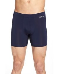 Naked - Blue Luxury Micromodal Boxer Briefs for Men - Lyst