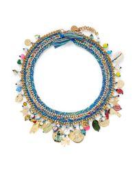 Venessa Arizaga | Multicolor 'just Ride' Necklace | Lyst