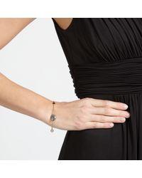 John Lewis Gray 18ct Gold Organic Gemstone Bracelet