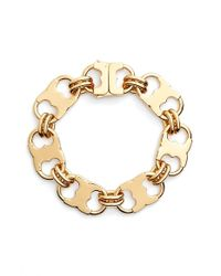 Tory Burch | Metallic 'gemini Link' Bracelet | Lyst