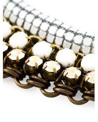Sveva Collection | White 'priscella' Necklace | Lyst