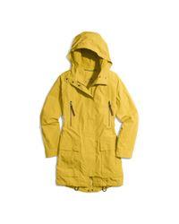 COACH - Yellow Utility Bonnie Parka - Lyst