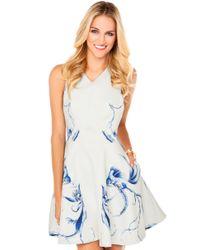Keepsake Blue Runaway Dress