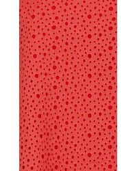 Tibi - Red Diffusion Eyelet Strappy Dress - Lyst
