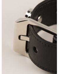 Saint Laurent   Black Studded Bracelet for Men   Lyst