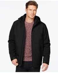 Calvin Klein | Black Full-zip Jacket for Men | Lyst