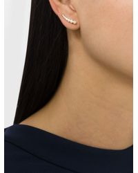 Sophie Bille Brahe - Metallic Small Crescent Moon Ear Cuff - Lyst