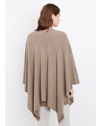 Vince - Brown Luxe Cashmere Poncho - Lyst