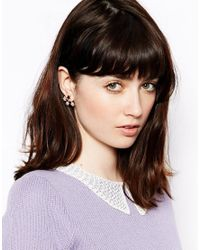 Rachel Roy - Metallic Floating Star Stud Earrings - Lyst
